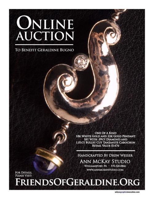 Pendant Fundraiser Auction