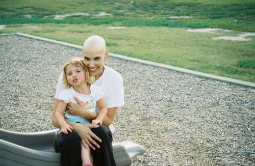 Geraldine and her daughter Viviane